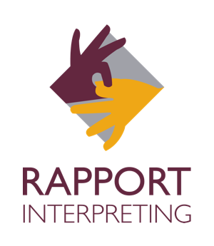 Rapport Interpreting Logo